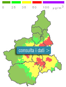 Cartina Piemonte Torino.Sistema Piemonte Ambiente Qualita Dell Aria In Piemonte